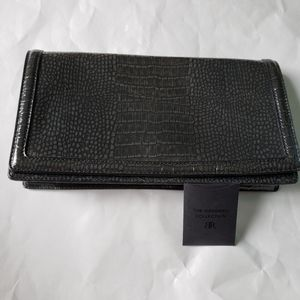 Banana Republic Embossed Genuine Leather Clutch